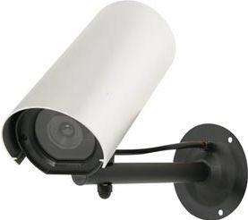 Dummy kamera - Udendørs attrapkamera m. LED