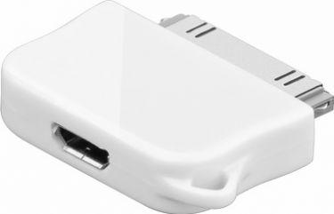 GOOBAY - USB adapter - Apple han til Micro USB hun, Hvid