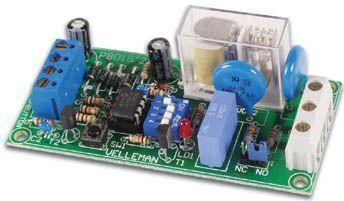 Velleman - K8015 - Multifunktions relækontakt
