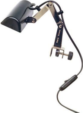 K&M nodelampe med knækled, sort (122e)