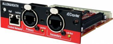 A&H Dante Modul Audio interface, 64x64 bi-directional