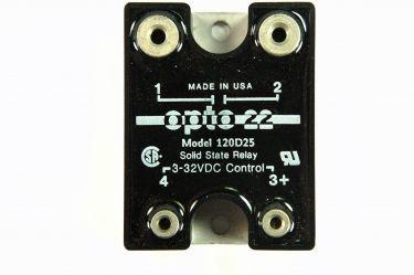 Solid state relæ - 120VAC / 25A, 1 x slutte