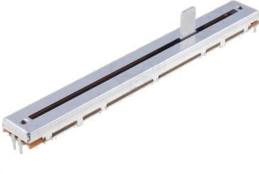 Skydepotmeter - 100 Kohm log. stereo 0,5W (100mm)