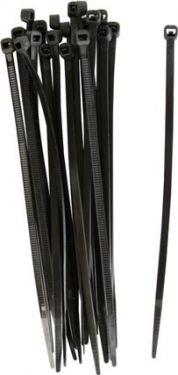 Fixpoint - Kabelstrips - 2,6 x 100mm, Sort (100 stk.)
