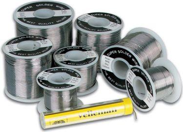 Velleman - Blyfri loddetin - 99,3% Sn - 0,7% Cu, Ø0,6mm (100g)