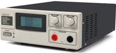 Velleman - Laboratorie strømforsyning - 0-60V / 0-15A, m. LED display