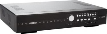 AVTech - HD CCTV Hybrid optager - 4 kanaler (TVI + Analog + IP)