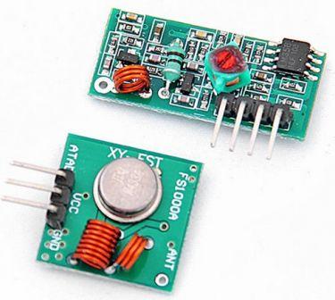433Mhz trådløs sender/modtager link kit til Arduino/ARM/MCU