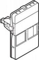 BELDEN - Vægdåse f. 2 dataudtag, 50x75 HVID (FUGA tilpasset)