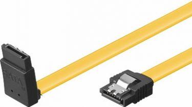 GOOBAY - HDD SATA kabel - 6GBit/s, SATA hun > SATA hun 90° op (0,3m)
