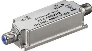 GOOBAY - HF inline antenneforstærker (DVB-T, DVB-S) 47-2400MHz / 20dB