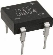 DIL ensretterbro - 400V / 1A, DB-1