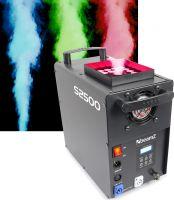 BeamZ professional S2500 Røgmaskine / Professionel røgkanon med kraftig LED Lys