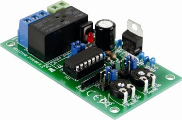 Velleman - MK188 - 1 sek. til 60 timers pulse/pause timer (byggesæt)
