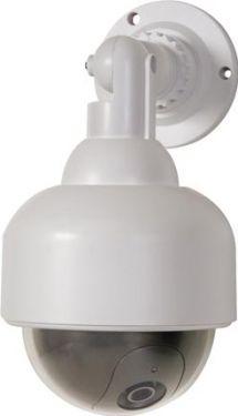 Velleman - Dummy DOME kamera - Udendørs attrapkamera m. rød LED