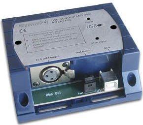 Velleman - K8062 - DMX styring m. USB (m. Light Player software)