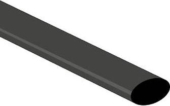 Velleman - Krympeflex 2:1 - 9,5mm SORT (1,2m)