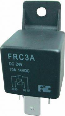 Autorelæ - 24VDC / 70A, spadestik, 1 x slutte (SPST-NO)
