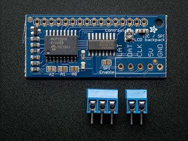 Adafruit - I2C / SPI character LCD backpack