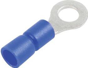 Blå ringkabelsko Ø13mm (10stk/blister)