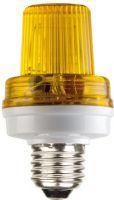 Mini stroboskop - Gul 3,5W / 230V (E27)