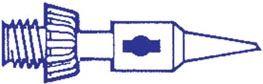 Portasol - Spids til GAS/PROF og GAS/SET - 1,0mm