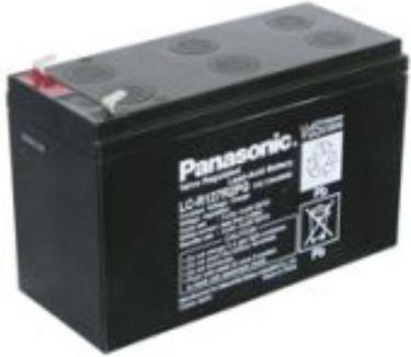 Panasonic - Blybatteri - 12V / 7,2Ah LC-R127R2PG VDS (Panasonic)