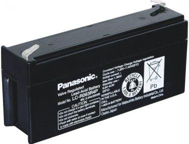 Panasonic - Blybatteri - 6V / 3,4Ah LC-R063R4P VDS (Panasonic)