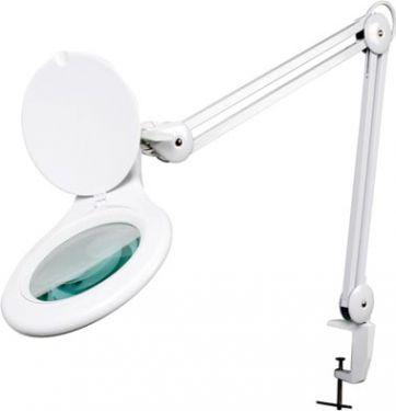 Velleman - LED luplampe (5 dioptri) - 5W, 48 hvide LEDs