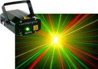 Apollo Multipoint Laser med kraftig stjerneeffekt Rød/Grøn (120/50mW)