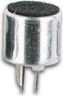 Elektret mikrofonkapsel - Ø10mm