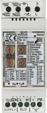 Velbus - VELBUS - Lysdæmper til elektronisk / resistiv belastning