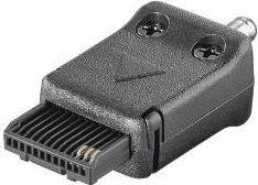 Rejsekit adapterstik - Til Siemens C25/C35/C45/MT50