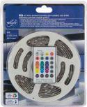 VelLight - Lydstyret LED stripsæt (IP61) - 150 RGB LED + styring (5m)