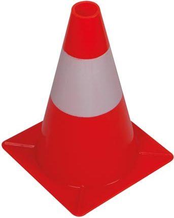 PEREL - Trafikkegle - 30cm, Rød/hvid