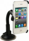 Bilholder til iPhone 5 - Roterbar m. svanehals og sugekop