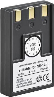 Batteri til Canon NB-1LH digitalkamera 3,7V / 1000mAh LiION