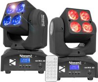 BeamZ Matrix22 Moving Head - Pakke med 2 stk.