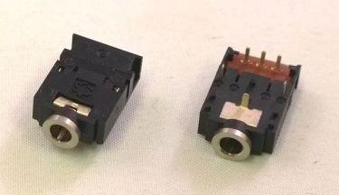 3,5mm stereo JACK fatning til print