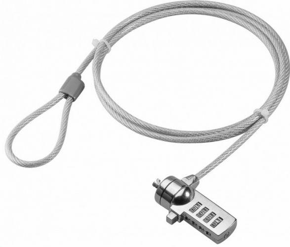 GOOBAY - Notebook sikkerhedswire m. kodelås (1,5m)