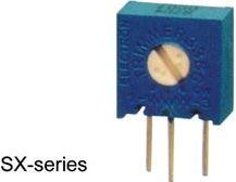 Single-turn trimmepotmeter - Vertikal, 500 Kohm, 500mW, ±10%