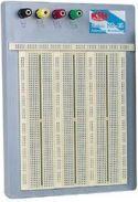 Velleman - Loddefri forsøgsbord (Breadboard) - 2420 huller