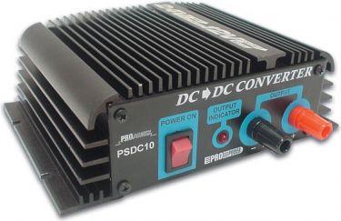 HQ Power - 24VDC til 12VDC konverter, 10A