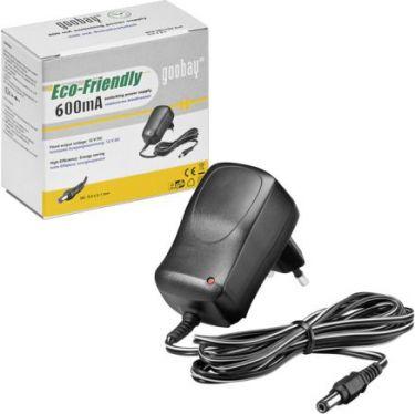 Netadapter - 12Vdc / 7W (600mA) switchmode, EuP (5,5x2,1mm)