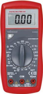 Velleman - Digital multimeter - DVM94, 23 måleområder, CATIII 600V, 10A