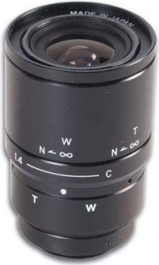 CCD zoomlinse - F1,4 / 6-15mm, 19°-44° (2,5x zoom)