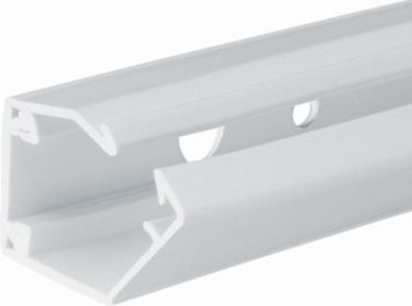 Kabelkanal på rulle - 15x15mm, Hvid plast (metervare)