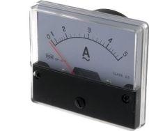 Analog strøm-panelmeter - 5A AC (70x60mm)