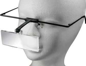 Velleman - Lupbrille - Forstørrelse 1,5 / 2,5 og 3,5 x dioptri