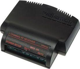 Velleman - VM119 - Ét-kanals dobbelt udgangsmodtager